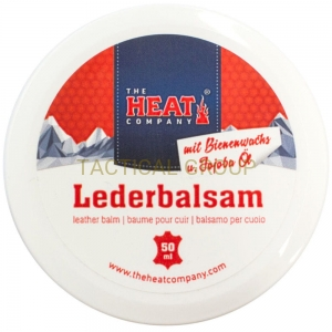 The HEAT COMPANY Leather balm balsam do pielęgnacji skóry 50 ml