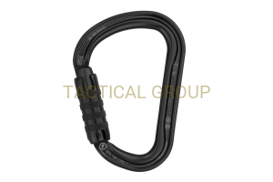 PETZL Karabinek William Triack-Lock czarny